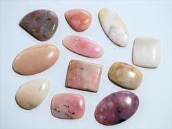 Pink Opal Natural Gemstone Cabochons