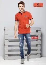 Men's Polo Printed T-Shirt