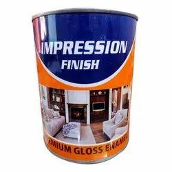 High Gloss Premium Water Enamel Paints, Packaging Size: 1 L