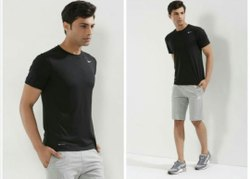High Quality 2Way Imported Sports Round Neck Full Sleeve Drifit T-Shirt for Running/Jogging