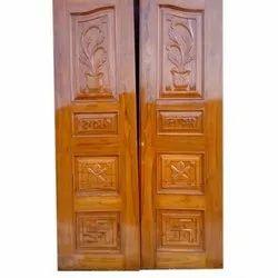 Solid Wooden Sagwan Doors