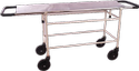 Si Surgical Mild Steel Stretcher Trolley (ms Base Ss Top), Model Name/number: Sis-2009
