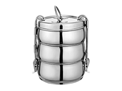 Stainless Steel Belly Clip Tiffin