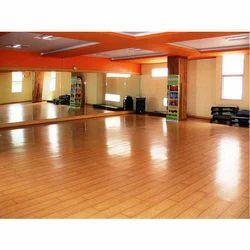 Brown Aerobic Hall Flooring