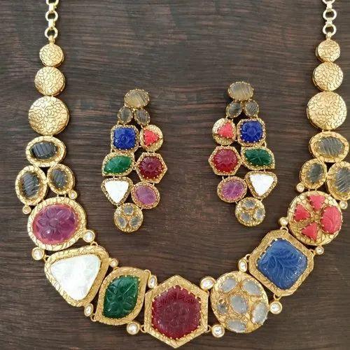 30482c24a Antique Necklaces and Kundan Necklaces Ecommerce Shop / Online ...