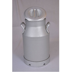 Aluminum Milk Can With Lid