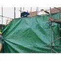 Silnylon Pe Laminated Building Construction Tarpaulin Cover, Thickness: 700-1000 Micron