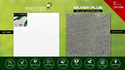 White Feet Cement Roof Tile Whitefeet, Dimensions: 254mm X 254mm X 15mm, Thickness: 10-15 Mm