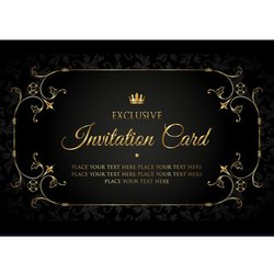 Invitation Cards Designing Services, Local