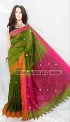Pure Thread Used Buti Handloom Saree