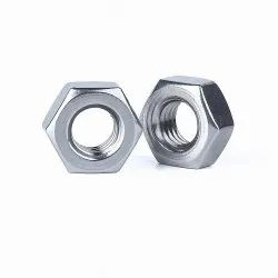 Metal Hexagonal Hex Nuts, For Industrial, Thickness: 100 Mm