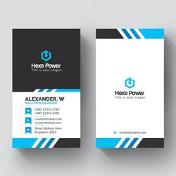 Paper Visiting Card Offset Printing Service, in India