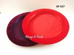 Velvet Finish Round Platters