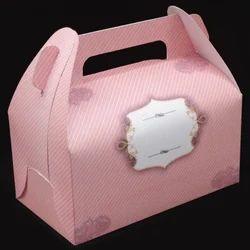 Pink Paper Fancy Gift Box