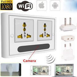 HD 1080P Wifi IP Camera Socket