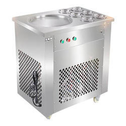 Fried Ice Cream Roll Making Machine With GN Pan