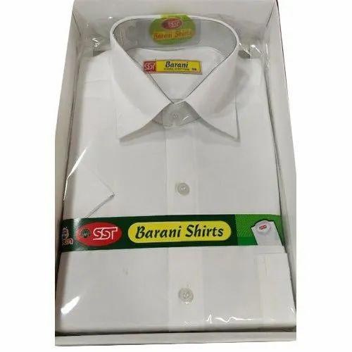 Barani Long Sleeve Plain Cotton Shirt