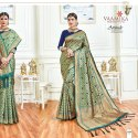 Glamorous Wedding Silk Saree