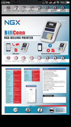 BILLING MACHINE WITH SMS FEATURE