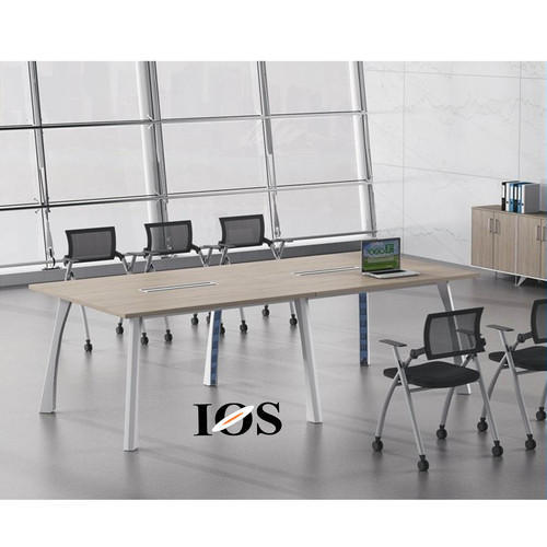 White Cedar Rectangular Elephant Leg Conference Table Size Feet - 7 foot conference table