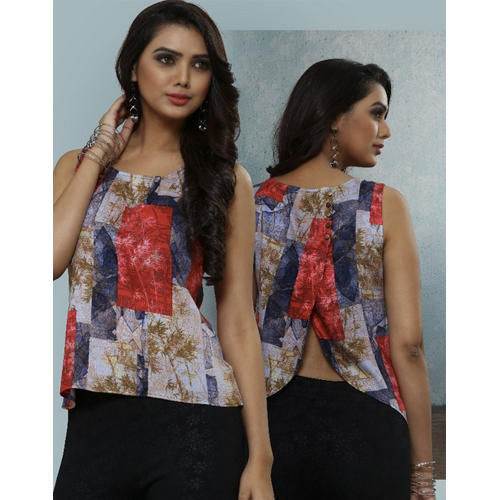7e5a6bec17622 Rayon Designer Tops - Ladies Tops Manufacturer from Surat