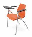 Wood Armrest Student Plastic Chair
