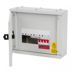 Mild Steel (MS) MCB Distribution Box for Electric Fittings