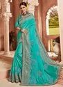 Heavy Embroidery Work Georgette Sarees