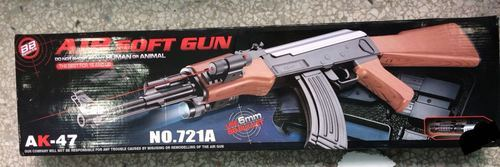 Assult And Laser Fully Automatic Gun