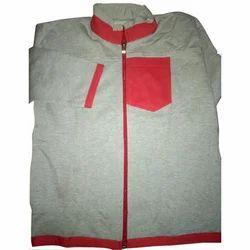 Zipper Full Sleeves Boys Woolen Jacket, Size: S-XXL