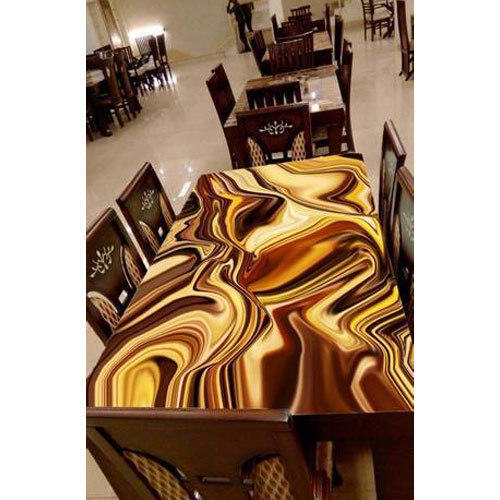 Friends Marble Digital Print Glass Table Top Rs 450