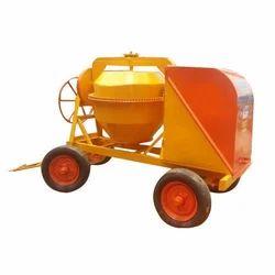 Heavy Duty ORANGE Concrete Mixer Machine