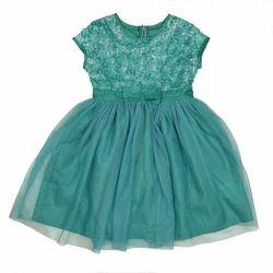 Karyn Turquoise Mesh Dress