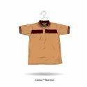 Collar Neck Half Sleeve T-Shirt