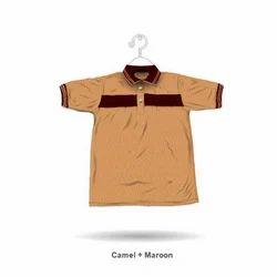 Men Cotton Collar Neck Half Sleeve T-Shirt, Size: L And XXl