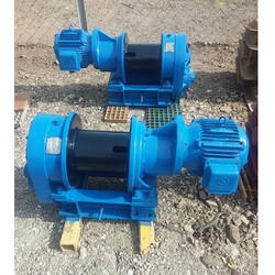 Drum Electric Rope Marine Winch