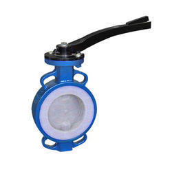 PTFE, FEP, PFA Lined Butterfly Valve