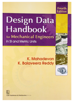 Design Data Handbook For Mechanical Engineering Book