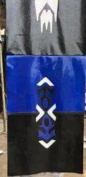 Black Blue Seat Cover