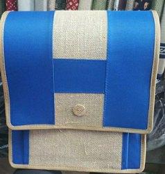 Blue Jute Office Executive Bag