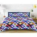 Multicolor Fancy Double Bed Sheet