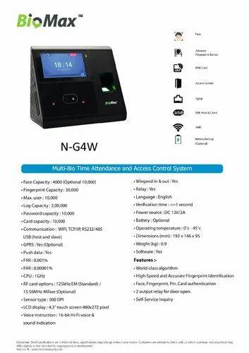 Multi Biometric Time Attendance System Wifi in Saraspur, Ahmedabad