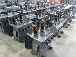 Everest Three Phase Oil Cooled Distribution Transformer