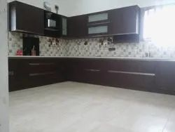 MODULAR KITCHEN WITH WALL UNIT