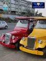 Vintage Golf Cart 6 Seater