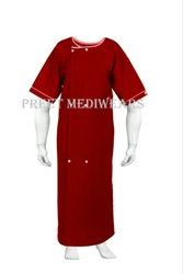 Terry Cot Patient Gown