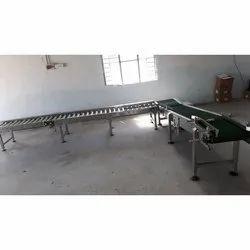 Inclined Roller Conveyor