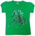 Girls Printed T Shirt