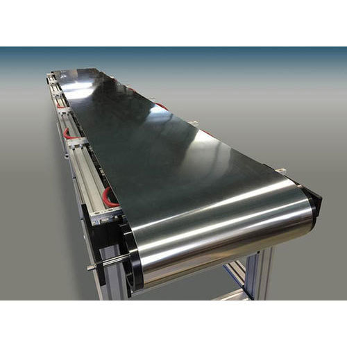 Stainless Steel Belt Conveyor At Rs 220000 Piece Belt