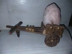 CART HIMALAYAN ROCK SALT LAMP